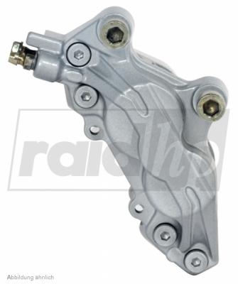 raid hp Bremssattellack silber 6-teilig 2-Komponenten-System