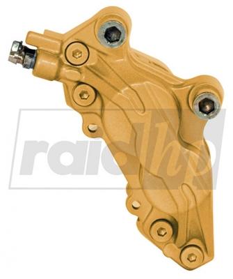 raid hp Bremssattellack gold 6-teilig 2-Komponenten-System