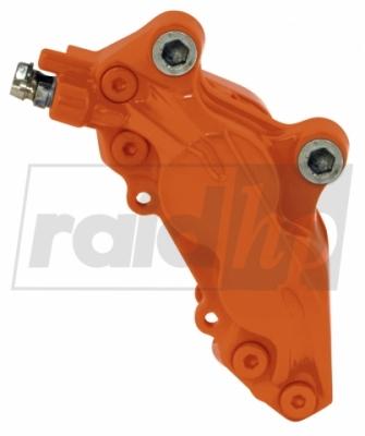 raid hp Bremssattellack orange 6-teilig 2-Komponenten-System