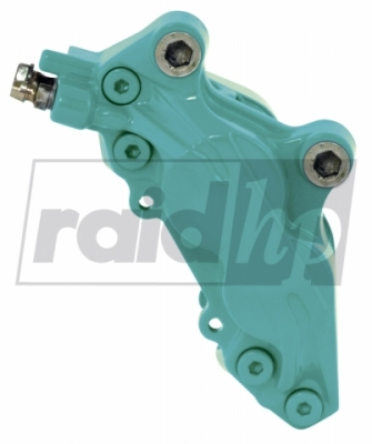 raid hp Bremssattellack türkis 6-teilig 2-Komponenten-System