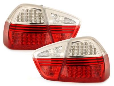LED Rückleuchten rot klar BMW E90 3er Limousine 05-08