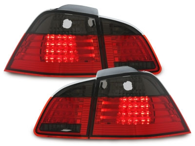 LED Rückleuchten BMW E61 Touring Kombi 04-10 red/smoke