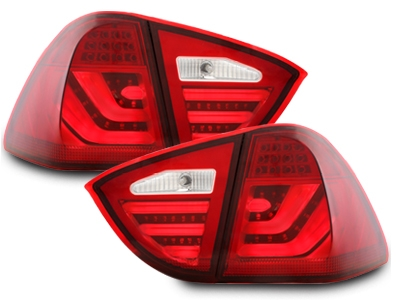 Lightbar Led Rückleuchten rot klar BMW E91 3er Touring 05-08