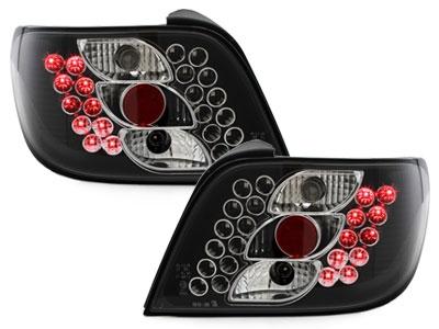 LED Rückleuchten Citroen Xsara 97-00 schwarz Klarglas
