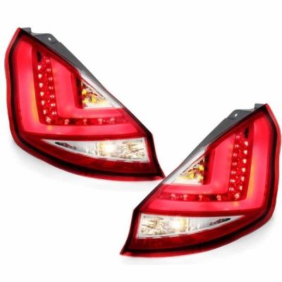 LED Rückleuchten Ford Fiesta JA8 MK7 08-12 red/crystal rot/klar