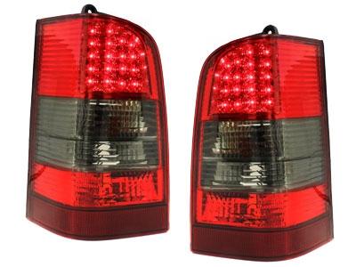 LED Rückleuchten Mercedes Benz W638 Vito 96-03 rot-rauch