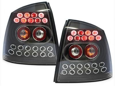 LED Rückleuchten Opel Astra G 98-04 schwarz Klarglas