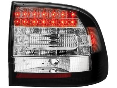 LED Rückleuchten Porsche Cayenne 03-07 schwarz Klarglas
