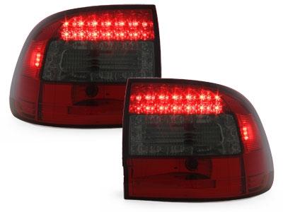 LED Rückleuchten Porsche Cayenne 03-07 rot-rauch