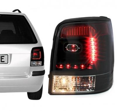 LITEC LED Rückleuchten VW Passat 3B 3BG 97-05 black schwarz/klar