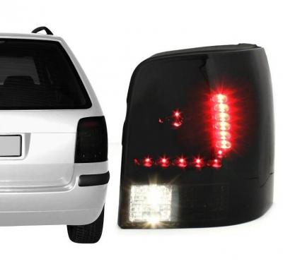 LITEC LED Rückleuchten VW Passat 3B 3BG 97-05 black/smoke schwar