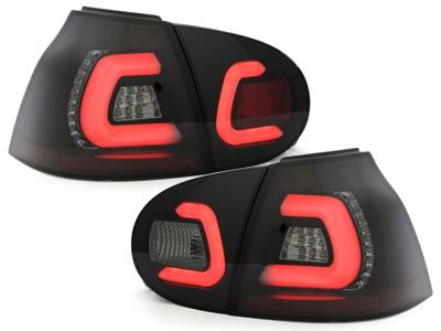 LED Rückleuchten VW Golf V 03-09 black/smoke schwarz rauch Sonar