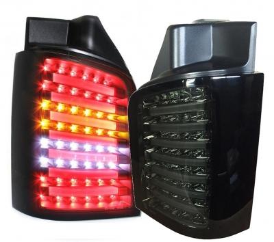 LED Rückleuchten VW T5 BUS 03-15 inkl. Facelift smoke rauch