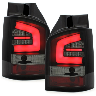 LED Rückleuchten VW T5 2009+ GP FACELIFT schwarz rauch Sonar