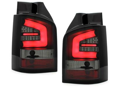 LED Rückleuchten VW T5 Transporter 03-15 / Multivan 03-09 schwarz Lightbar SONAR