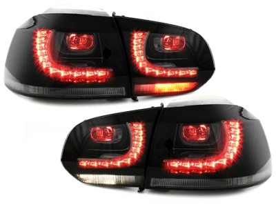 LED Rückleuchten VW Golf VI 6 08-12 smoke GTI / R-Look rauch Dep