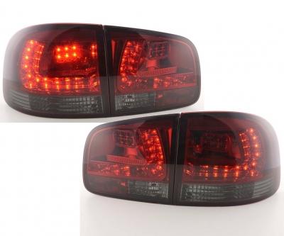 LED Rückleuchten VW Touareg 02-10 rot-schwarz dunkelrot