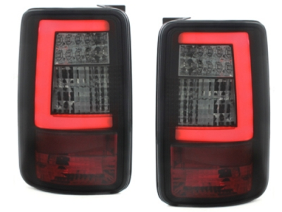 LED Rückleuchten VW Caddy Bj. 03-15 schwarz black LIGHTBAR