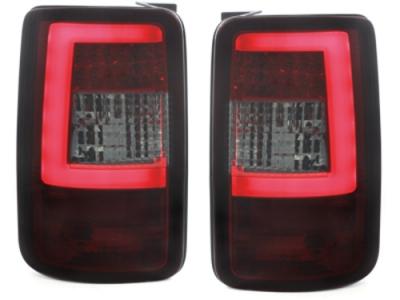 LED Rückleuchten VW Caddy Bj. 03-15 rot-schwarz LIGHTBAR