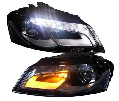 LED TAGFAHRLICHT Scheinwerfer AUDI A3 8P 09-12 schwarz Depo