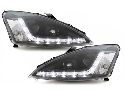Scheinwerfer Ford Focus 98-01 Tagfahrlicht-Optik schwarz GXB