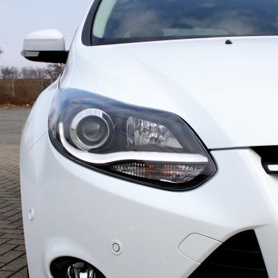 Lightbar Scheinwerfer Ford Focus MK3 11-14 schwarz