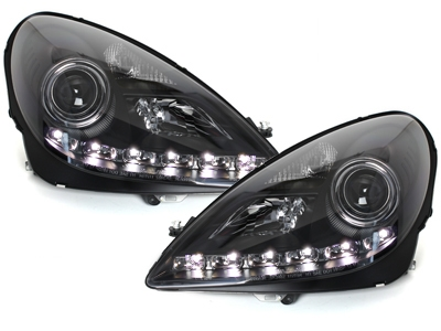 LED TAGFAHRLICHT Xenon Scheinwerfer MERCEDES BENZ SLK R171 04-11