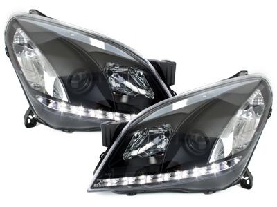 Scheinwerfer Opel Astra H 04-09 Tagfahrlicht-Optik schwarz