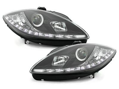 LED TAGFAHRLICHT Scheinwerfer Seat Altea + Altea XL 09+ schwarz